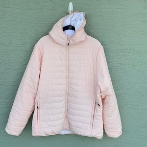 CRAGHOPPERS Baby Pink Puffer Sz 14